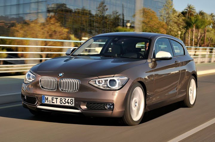 2013 BMW 1 Series front