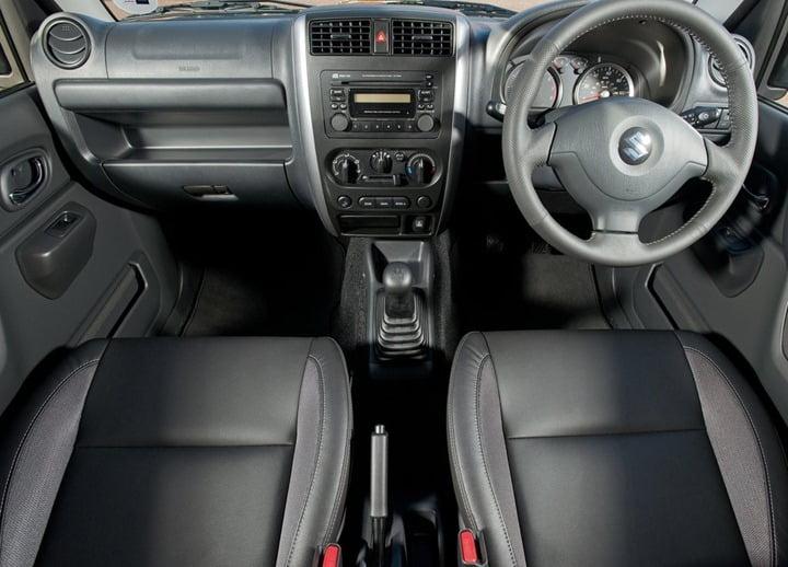 2013 Suzuki Jimny Updated Model UK interior