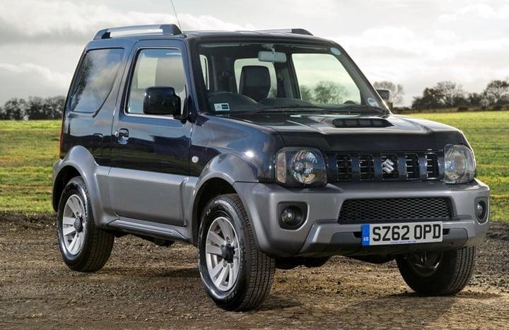 2013 Suzuki Jimny Updated Model UK