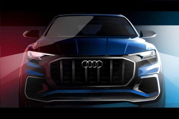 Audi Q8 SUV Images 1