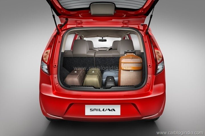 CHEVROLET  SAIL U-VA  Boot Space - Loaded