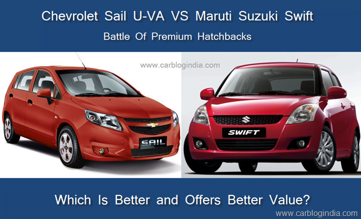 Chevrolet Sail Vs Maruti Swift