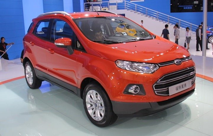 Ford EcoSport China With Long Wheelbase