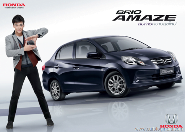 Honda Brio Amaze To Launch In South Africa Amp Indonesia