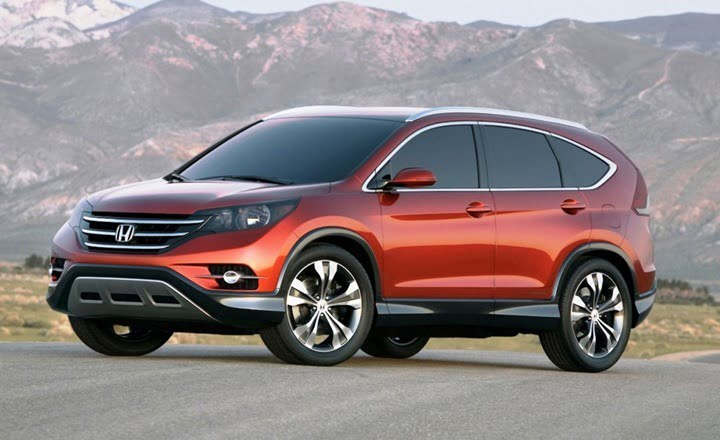Beautiful Honda CR V 2012 Official Picture
