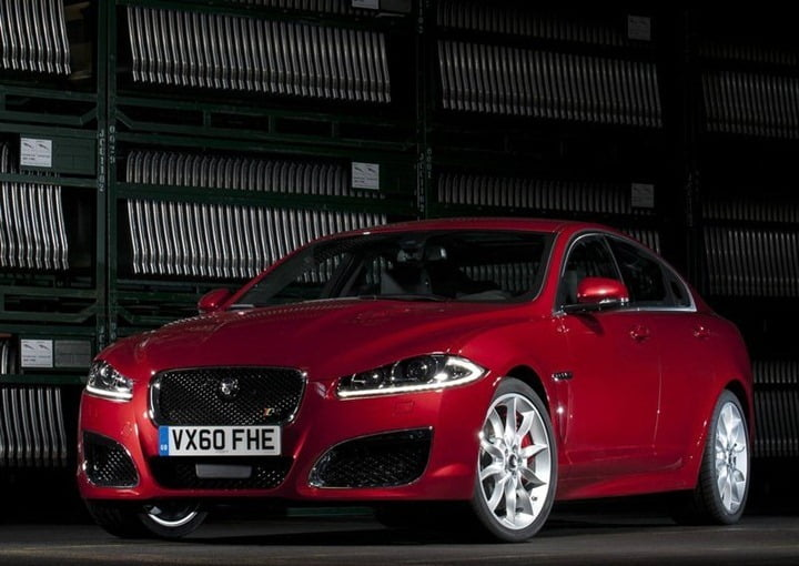 Jaguarg XF Local Assembly Starts In India (2)