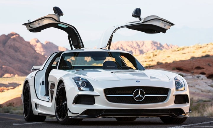 Mercedes-Benz SLS AMG Black Series 4