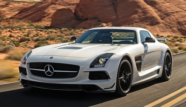 Mercedes-Benz SLS AMG Black Series 7