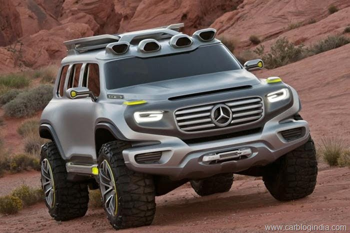 Mercedes Ener-G-Force Concep SUV (1)