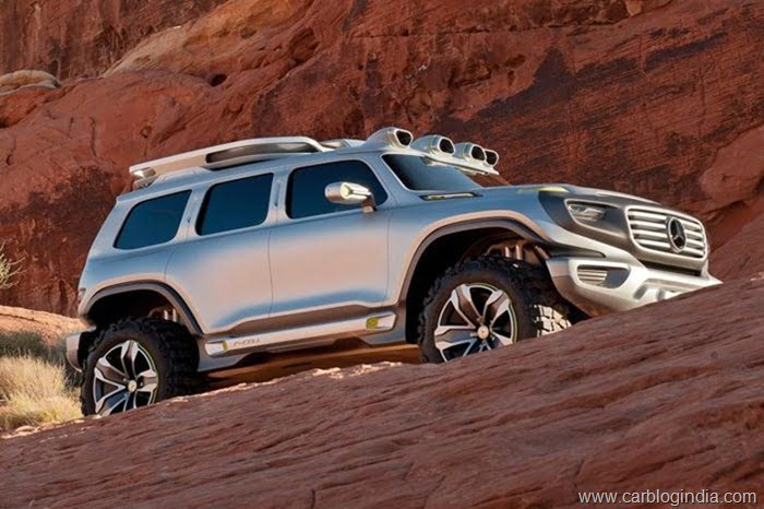Mercedes Ener-G-Force Concep SUV (5)