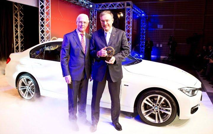 New BMW 3 Series Wins 2012 Golden Steering Wheel Award