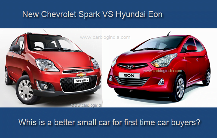 Chevrolet Spark Vs Hyundai Eon- Which Is Better?
