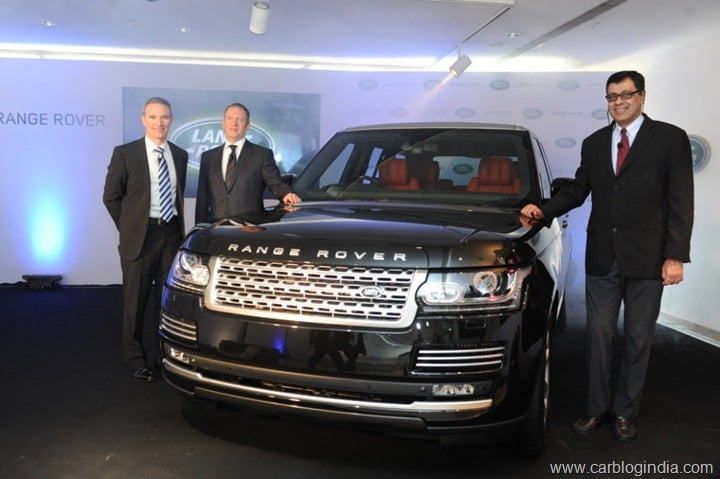 New Range Rover Launched In India