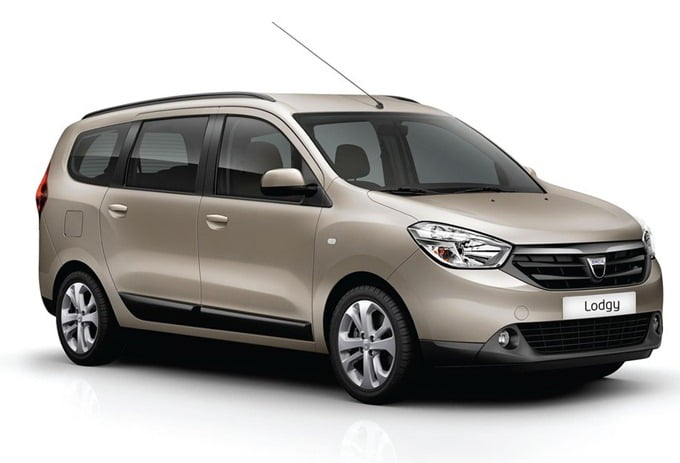 Renault Dacia Lodgy India in 2014
