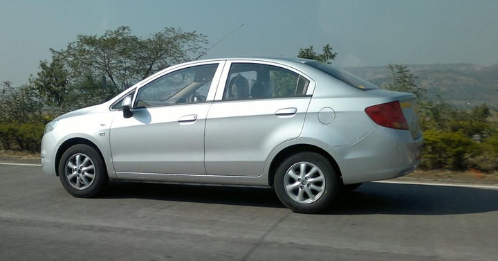 Production Ready Chevrolet Sail Sedan Caught Testing– Launch Soon