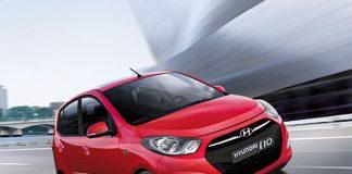 Hyundai i10 Front Right Quarter Dynamic