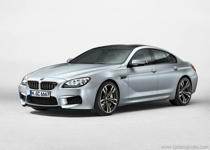 2014 BMW M6 Gran Coupe Front Left Quarter