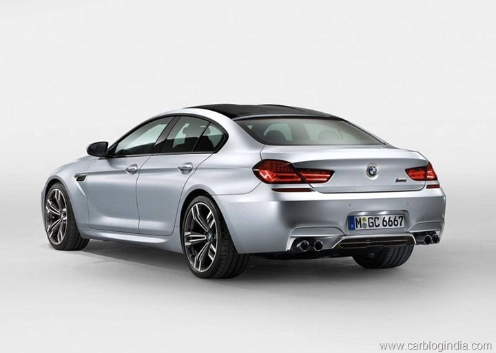 2014 BMW M6 Gran Coupe Rear Left Quarter