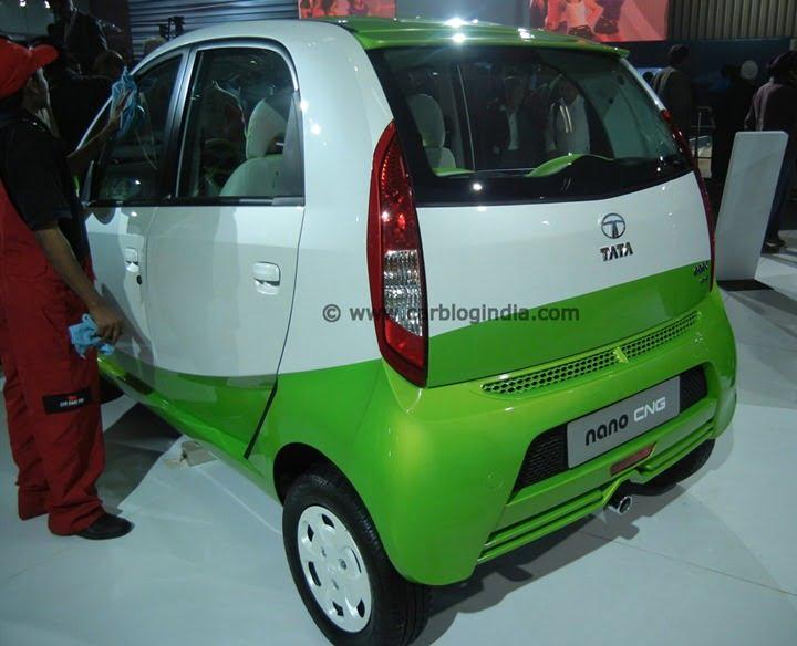 2013 Tata Nano CNG