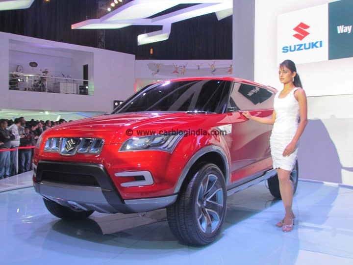 Maruti XA-Alpha Compact SUV Launch In 2014