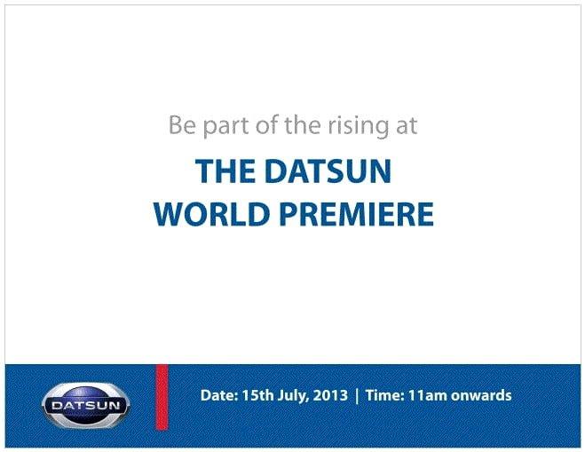 Datsun Premiere Invite
