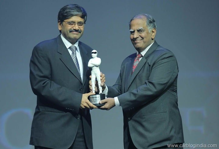 "Maruti Ertiga Wins ""Family Car Of The Year 2012"" Award By TopGear India"