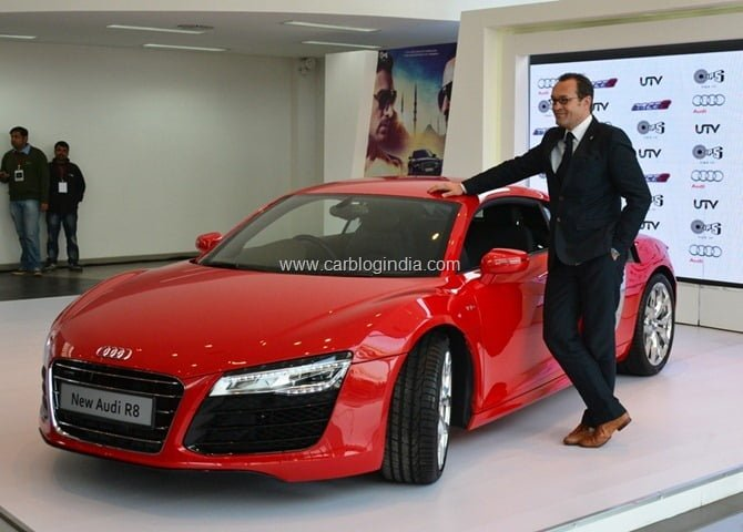 2013 Audi R8 Launch In India By Race 2 Star Cast (1)
