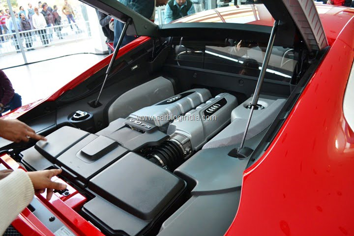 2013 Audi R8 Launched In India By Race 2 Star Cast
