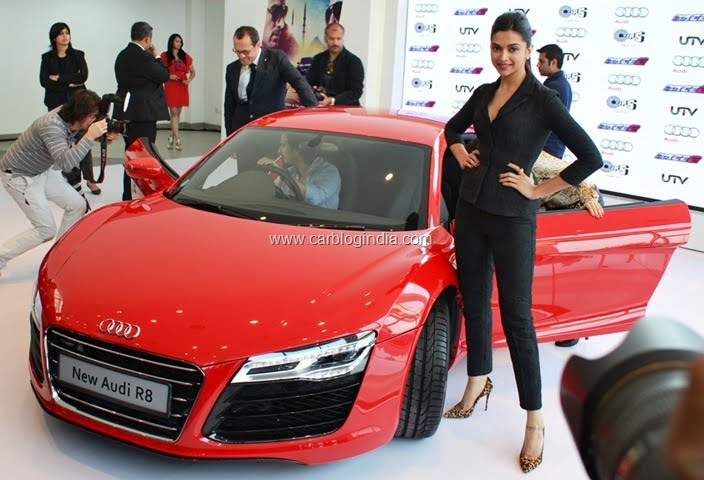 Audi R Launched In India By Race Star Cast - Audi car r8 price in india