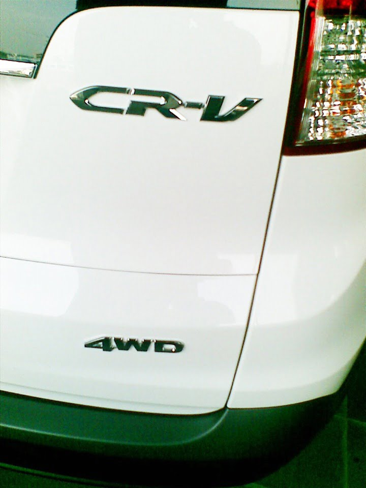 2013 Honda CRV Spy Picture rear