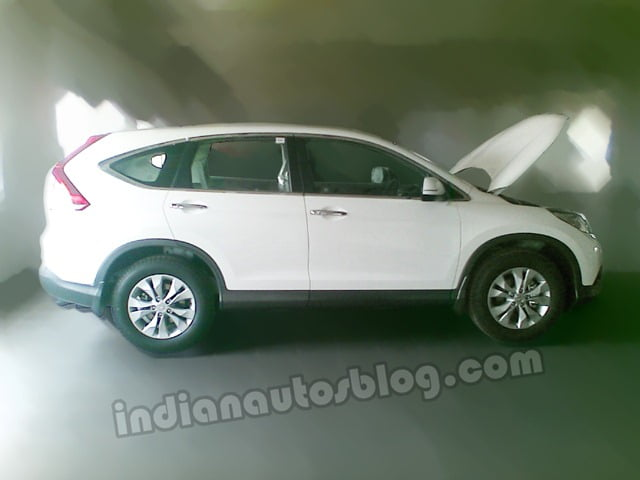 2013 Honda CRV Spy Picture