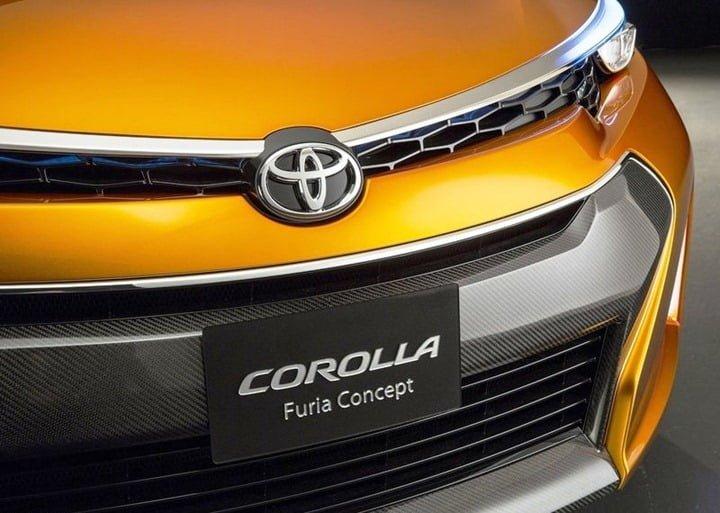 2013 Toyota Corolla Furia Concept Revealed