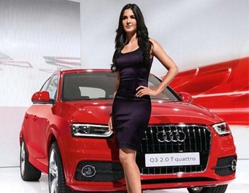 Audi Q3 Katrina Kaif