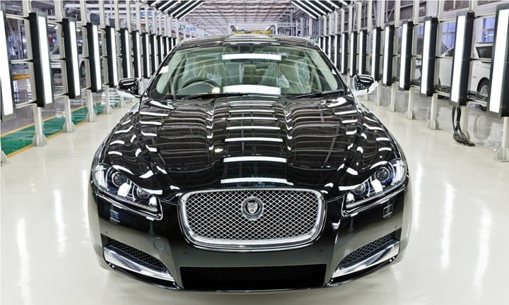 Jaguar XF Local Assembly In India