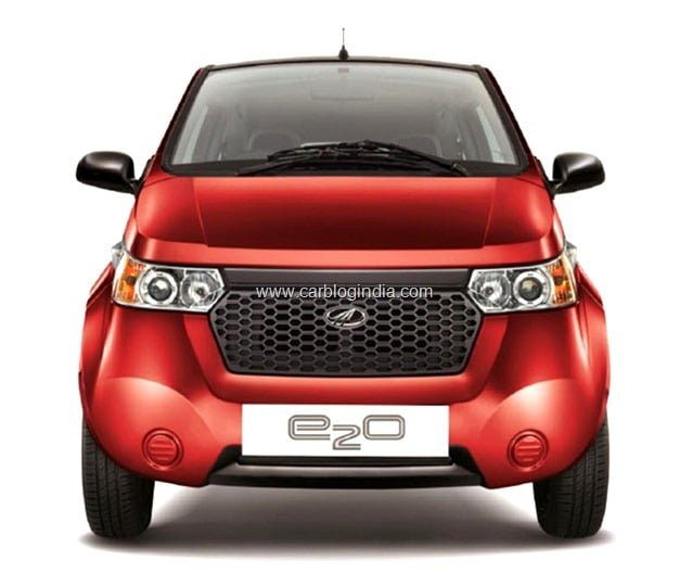 Mahindra Reva E2O Electric Car
