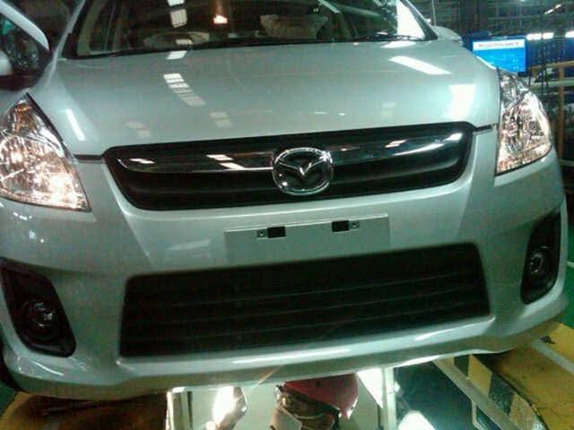 Mazda VX1 is Maruti Ertiga