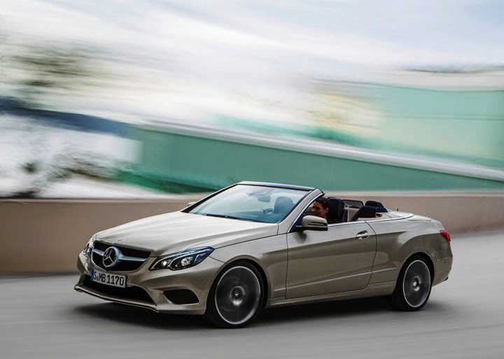 Mercedes Benz E-Class Cabriolet (2)