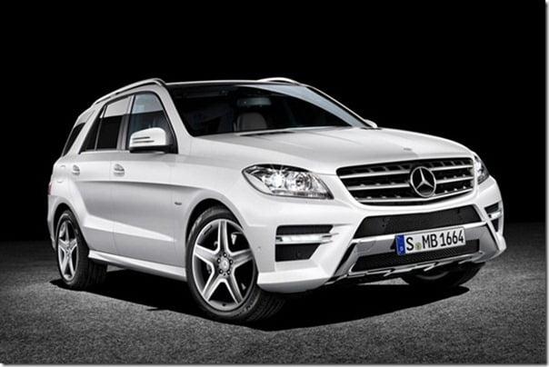 MercedesBenzMClass2012front
