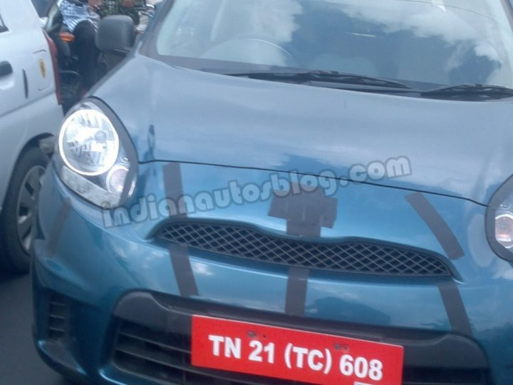 Nissan Low Cost Micra Front