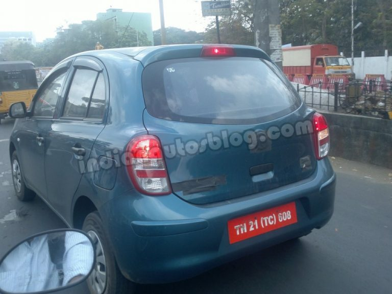 Low Cost Nissan Micra Caught Testing, Again