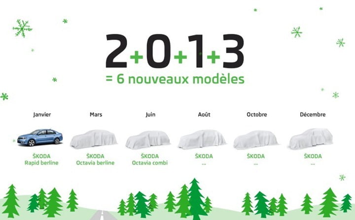 Skoda 2013 Global Launch Plan