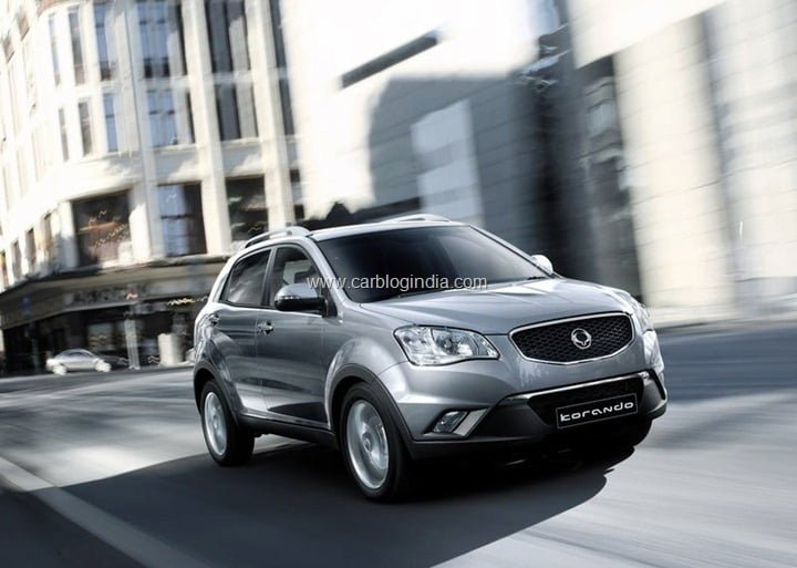 SsangYong Korando Launch In India Soon (1)