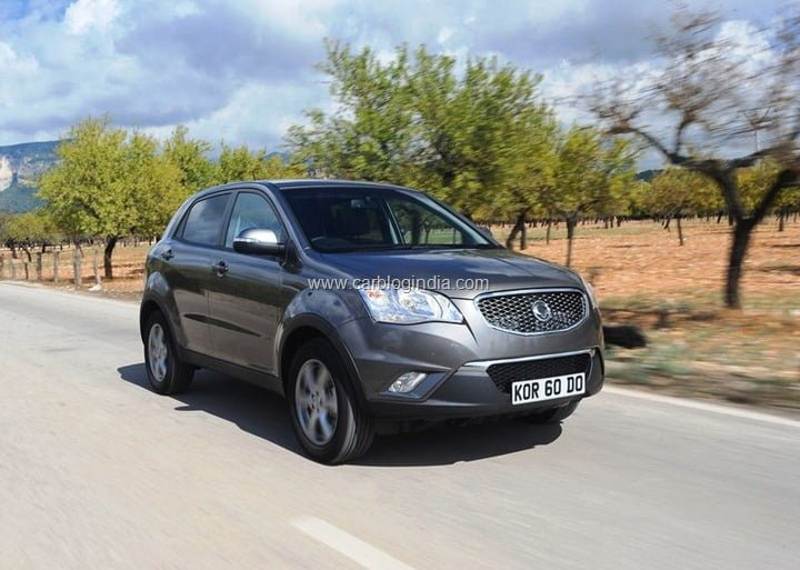 SsangYong Korando Launch In India Soon (3)
