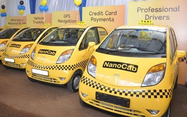 Tata Nano Taxi Cab