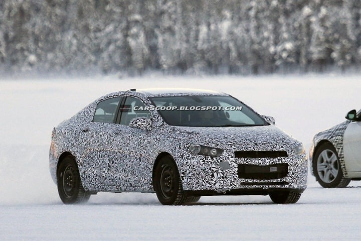 2014 Chevrolet Cruze Spy Pictures (1)