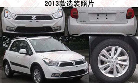 2013 Suzuki SX4 For China Spied– Indian Facelift Also On Anvil