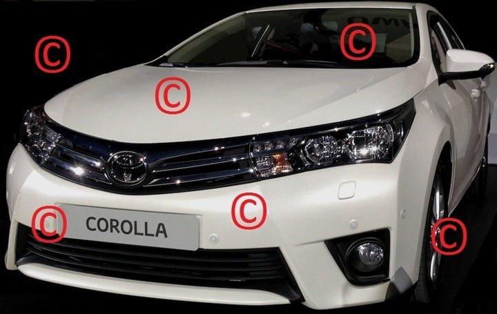 2014 Toyota Corolla Front