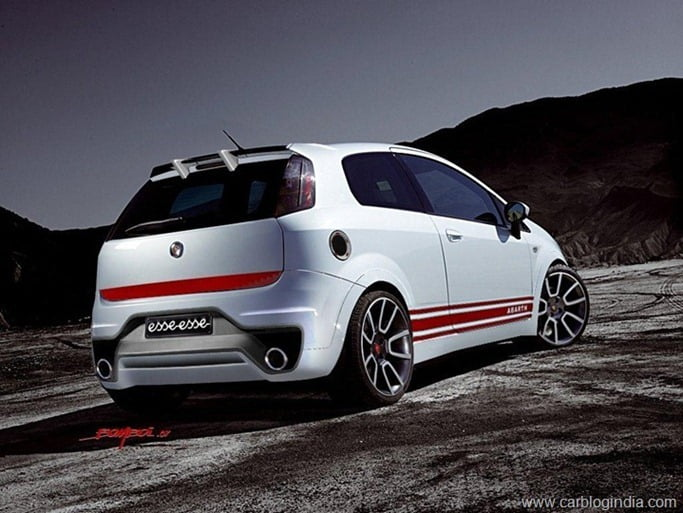 Fiat Abarth Punto Indian Launch In June 2013