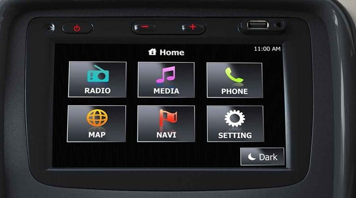 Renault Duster With Touch Screen Multimedia And Navigation System
