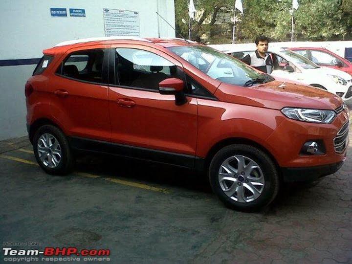 Ford EcoSport At Dealership